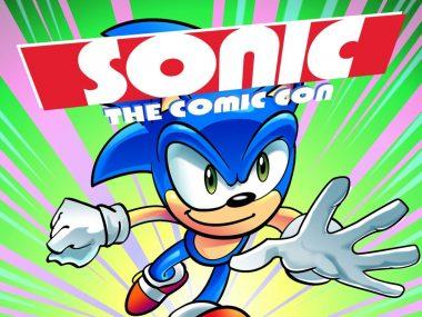 Sonic the comic con